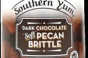 DARK CHOCOLATE SOFT PECAN BRITTLE