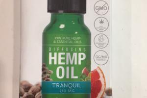 100% Pure Hemp & Essential Oils