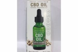 NANO-ENHANCED BROAD SPECTRUM CBD OIL