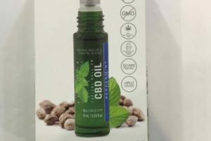 250 MG CBD OIL TOPICAL ROLL-ON, PEPPERMINT