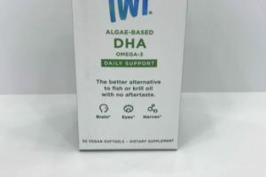 ALGAE-BASED DHA OMEGA-3 DAILY SUPPORT DIETARY SUPPLEMENT VEGAN SOFTGELS