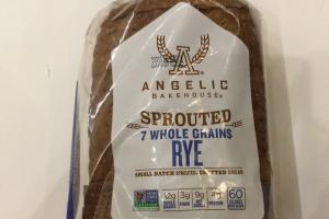 Sprouted 7 Whole Grain Rye Bread