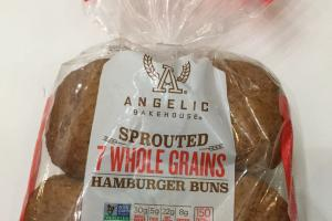 Sprouted 7 Whole Grains Hamburger Buns