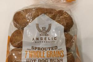 Sprouted 7 Whole Grains Hot Dog Buns