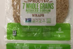 Sprouted 7 Whole Grain Wraps