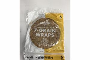 7 SPROUTED WHOLE GRAINS WRAPS