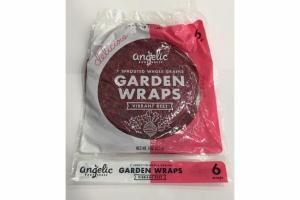 7 SPROUTED WHOLE GRAINS GARDEN WRAPS VIBRANT BEET