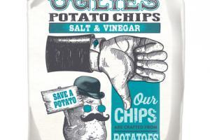 SALT & VINEGAR KETTLE COOKED POTATO CHIPS