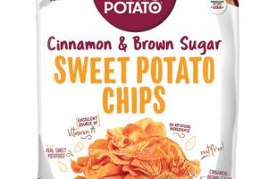 CINNAMON & BROWN SUGAR SWEET POTATO CHIPS