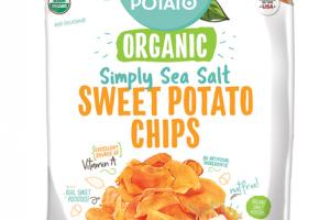 SIMPLY SEA SALT SWEET POTATO CHIPS