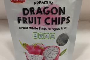 White Flesh Dragon Fruit Chips