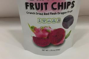 Red Flesh Dragon Fruit Chips