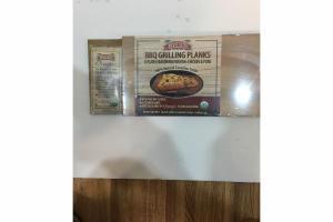 BBQ GRILLING PLANKS & PLANK SEASONING FOR FISH, CHICKEN & PORK