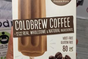 Coldbrew Coffee Frozen Pops