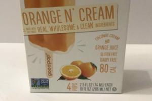 ORANGE N' CREAM ICE POPS