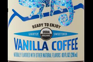 Lightly Sweetened Vanilla Coffee