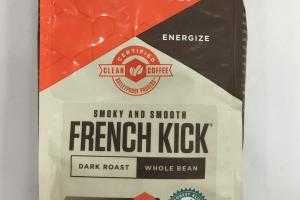 Smoky And Smooth French Kick Whole Bean Coffee