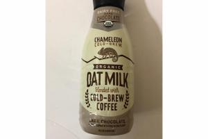 DARK CHOCOLATE OAT MILK BLENDED WITH COLD-BREW COFFEE