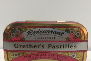 Sugarfree Redcurrant Pastilles