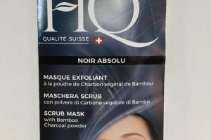 Maschera Scrub Mask With Bamboo Charcoal Powder