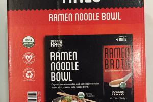 Ramen Noodle Broth Bowl