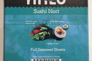 Sushi Nori Full Seaweed Sheets