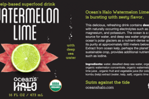 WATERMELON LIME HYDRATE KELP-BASED SUPERFOOD DRINK