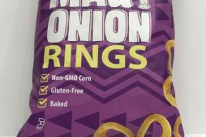 SWEET MAUI ONION RINGS CORN SNACKS