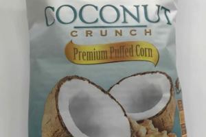 COCONUT CRUNCH PREMIUM PUFFED CORN