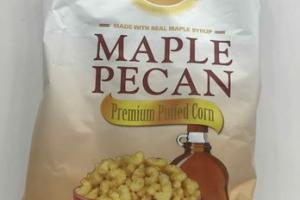 MAPLE PECAN PREMIUM PUFFED CORN