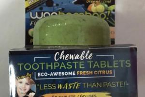 CHEWABLE TOOTHPASTE TABLETS, FRESH CITRUS, ORANGE + LIME