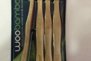 ECO-AWESOME BAMBOO HANDLED SOFT TOOTHBRUSHES