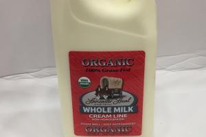Organic Whole Milk Cream Line