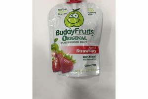 APPLE & STRAWBERRY ORIGINAL PURE BLENDED FRUIT