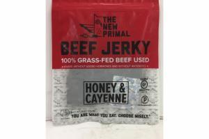 HONEY & CAYENNE BEEF JERKY