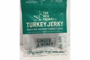 GINGER & HONEY TURKEY JERKY