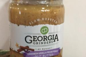 Cinnamon-vanilla Pecan Peanut Nut Butter