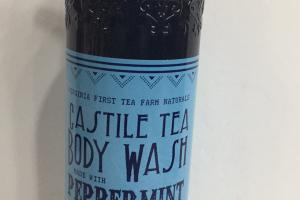 Castile Tea Body Wash, Peppermint