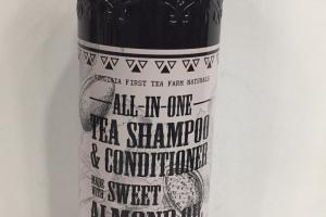 All In One Unscented Tea Shampoo & Conditioner