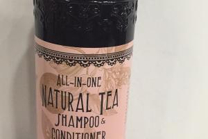Natural Tea Shampoo & Conditioner, Grapefruit Oil