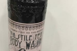 CASTILE TEA BODY WASH MADE WITH ROSE ESSENTIAL OIL