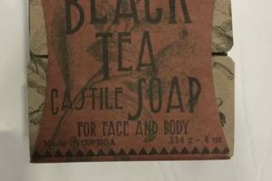 CASTILE SOAP, BLACK TEA