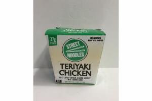 TERIYAKI CHICKEN FULLY COOKED CHICKEN & RAMEN NOODLES WITH TERIYAKI SAUCE