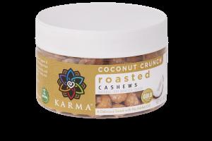 Coconut Crunch Roasted Cashews