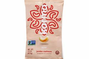 UNROASTED AND UNSALTED RAW JUMBO CASHEWS