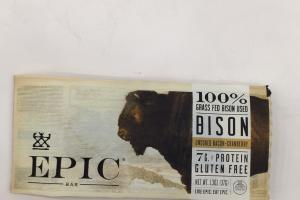 Bison Uncured Bacon + Cranberry
