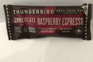 CHOCOLATE RASPBERRY ESPRESSO REAL FOOD BAR