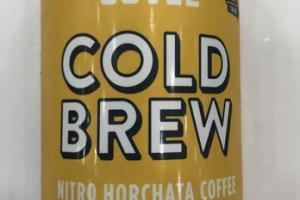 VANILLA & CINNAMON COLD BREW NITRO HORCHATA COFFEE