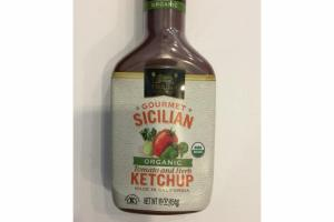 GOURMET SICILIAN TOMATO AND HERB KETCHUP