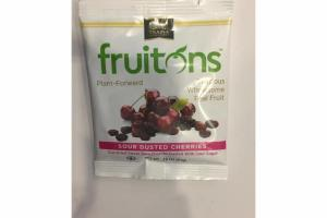 SOUR DUSTED CHERRIES DELICIOUS WHOLESOME REAL FRUIT SNACKS